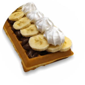 waffle 13 nutella banana Sensi Star Monopoli