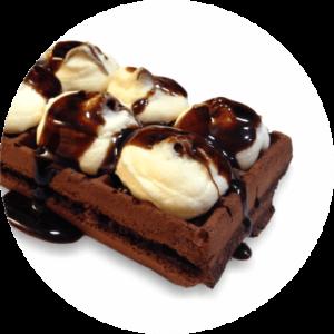 waffle 21 double ciok coffee Sensi Star Monopoli